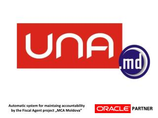 "A utomatic system for maintaing accountability  by the Fiscal Agent project ""MCA Moldova"""