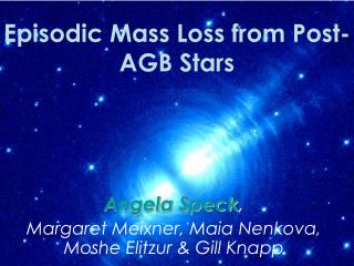 Episodic Mass Loss from Post-AGB Stars