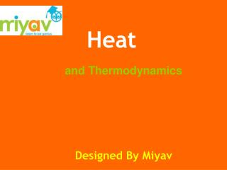 and Thermodynamics