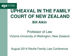 Upheaval in the Family Court of New Zealand