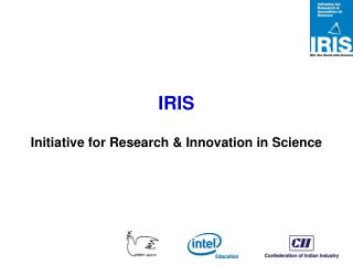 IRIS Initiative for Research & Innovation in Science