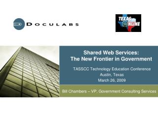 Shared Web Services: The New Frontier in Government