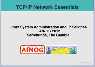 TCP/IP Network Essentials