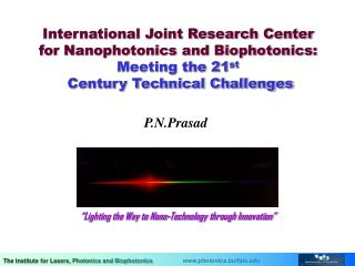 """Lighting the Way to Nano-Technology through Innovation"""