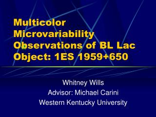 Multicolor Microvariability Observations of BL Lac Object: 1ES 1959+650