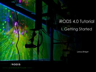 iRODS 4.0 Tutorial I. Getting Started
