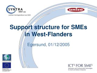 Support structure for SMEs in West-Flanders