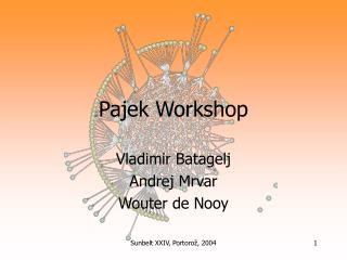 Pajek Workshop