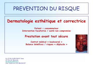 PREVENTION DU RISQUE