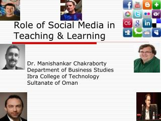 Role of Social Media in Teaching & Learning