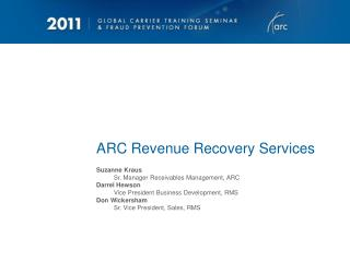 ARC Revenue Recovery Services