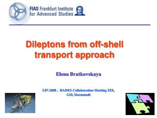 Dileptons from off-shell transport approach
