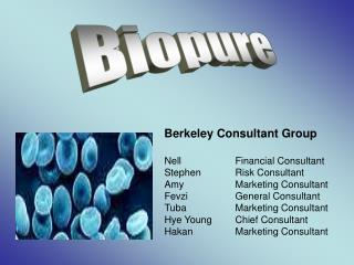 Nell  Financial Consultant Stephen Risk Consultant Amy  Marketing Consultant Fevzi  General Consultant Tuba  Marketing C