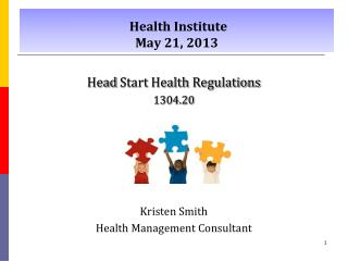 Health Institute May 21, 2013