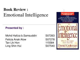 Book Review : Emotional Intelligence
