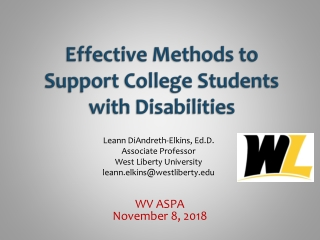 Adaptive Technology for Students with Learning Disabilities