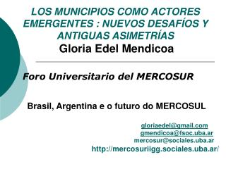 Foro Universitario del MERCOSUR