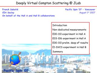 Deeply Virtual Compton Scattering @ JLab