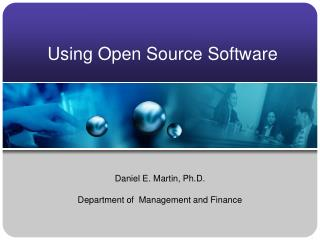 Using Open Source Software