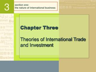 section one: the nature of international business