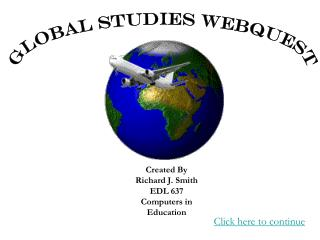 Global Studies Webquest