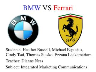 BMW  VS  Ferrari