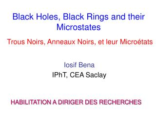 Black Holes, Black Rings and their Microstates