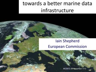 towards a better marine data infrastructure
