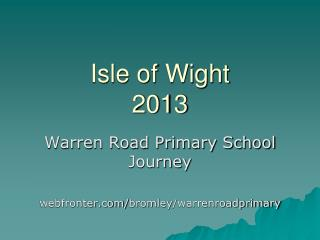 Isle of Wight 2013