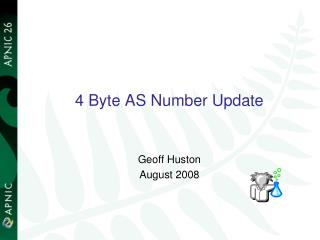 4 Byte AS Number Update