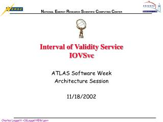 Interval of Validity Service IOVSvc