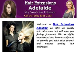 Hair Extensions Adelaide