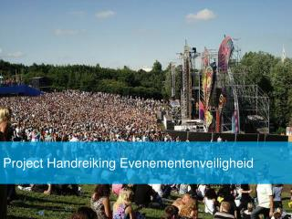 Project Handreiking Evenementenveiligheid