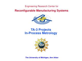 Engineering Research Center for Reconfigurable Manufacturing Systems