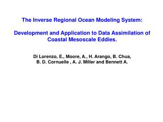 The Inverse Regional Ocean Modeling System: