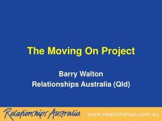 The Moving On Project