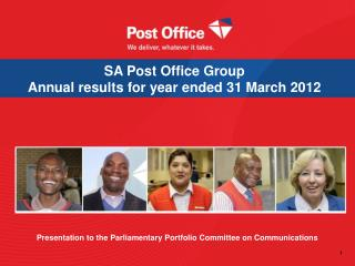 SA Post Office Group  Annual results for year ended 31 March 2012