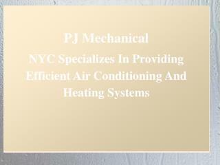 PJ Mechanical NYC