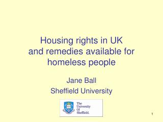 Housing rights in UK  and remedies available for homeless people