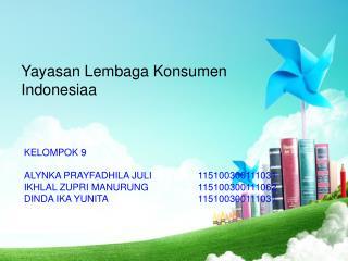 Yayasan Lembaga Konsumen Indonesiaa