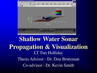 Shallow Water Sonar Propagation & Visualization