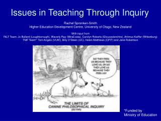 Issues in Teaching Through Inquiry