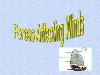 Forces Affecting Winds
