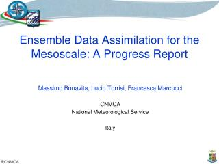 Ensemble Data Assimilation for the Mesoscale: A Progress Report