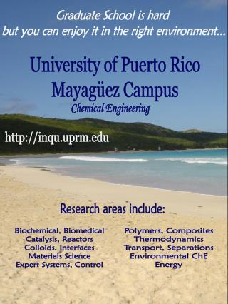 University of Puerto Rico Mayagüez Campus