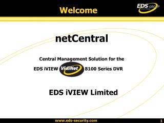netCentral Central Management Solution for the