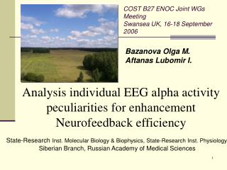 Analysis  individual EEG alpha activity peculiarities  for enhancement  Neurofeedback efficiency