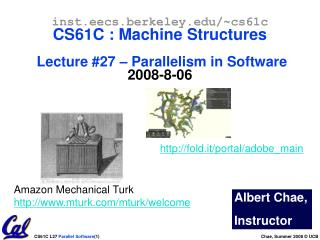 PPT - CS61A Lecture 30 MapReduce PowerPoint Presentation