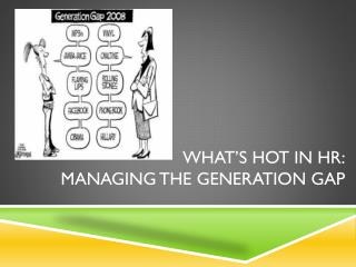 What's hot in  hr : Managing the generation gap