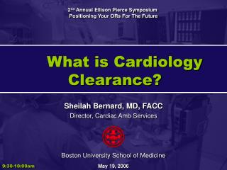 What is Cardiology Clearance
